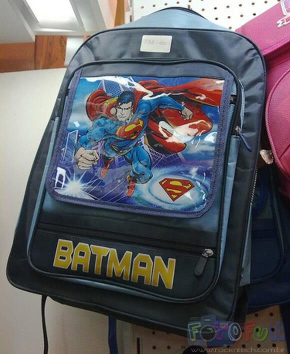 FOTOFUN - Com vocês o Super Batman!
