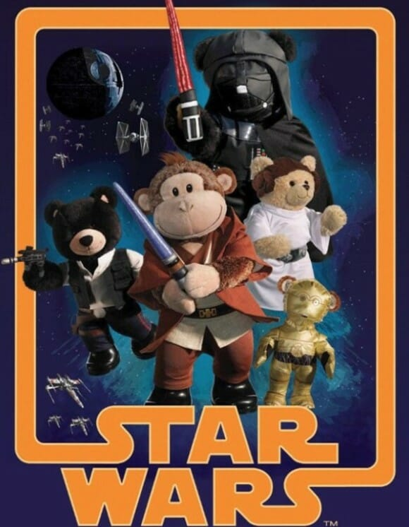 Ursos de Pelúcia Star Wars.