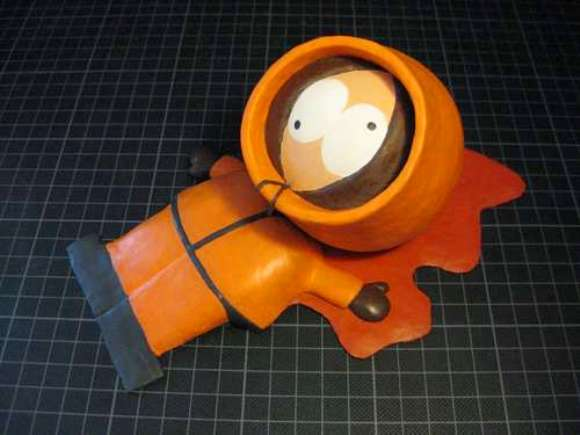 MONTE O SEU: Trava-portas do Kenny de South Park