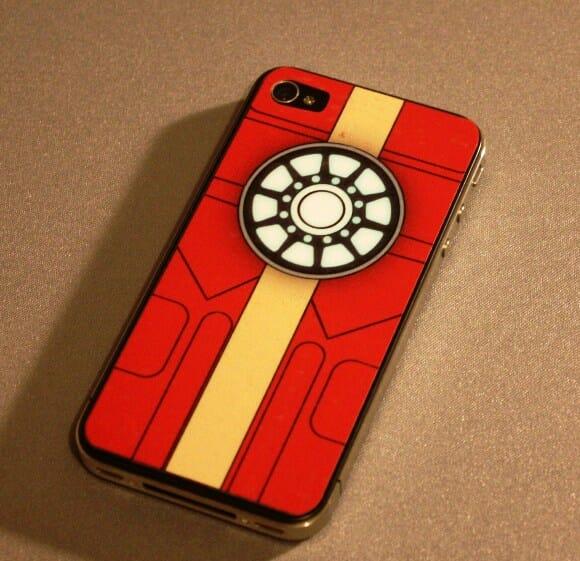 Adesivo para iPhone 4 Reator Arc do Homem de Ferro