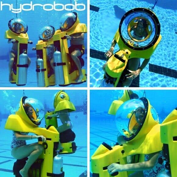 BOB - Uma scooter para andar debaixo d'água!