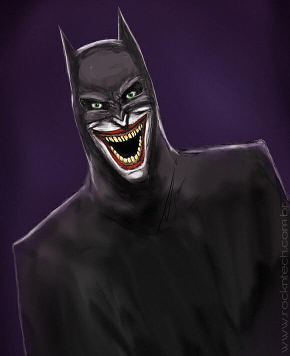 FOTOFUN - Coringa como Batman.