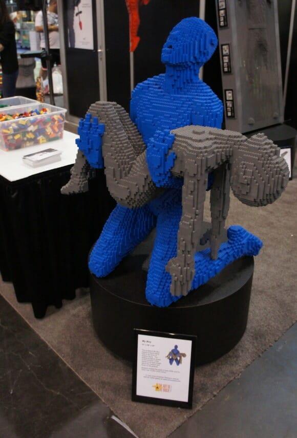 esculturas de LEGO de Nathan Sawaya