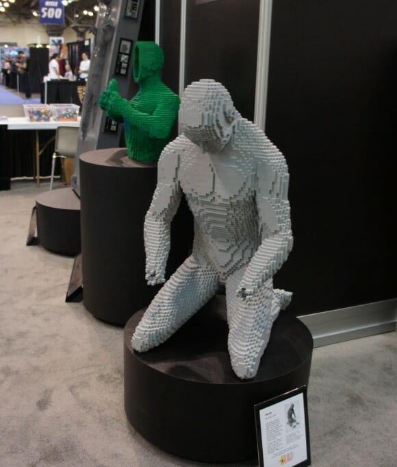 Escultura de LEGO de Nathan Sawaya