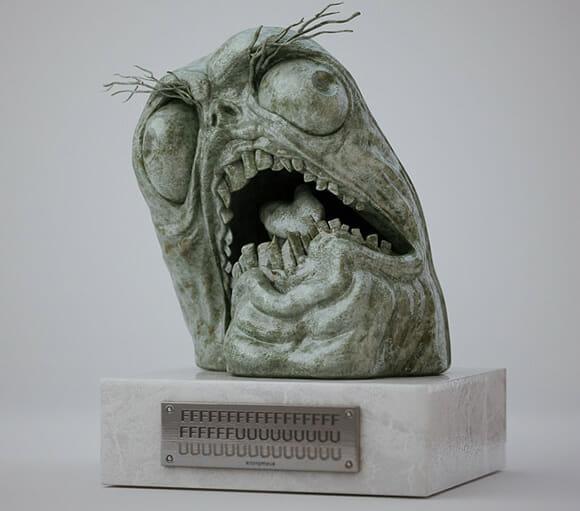 Estátua do FFFUUUU
