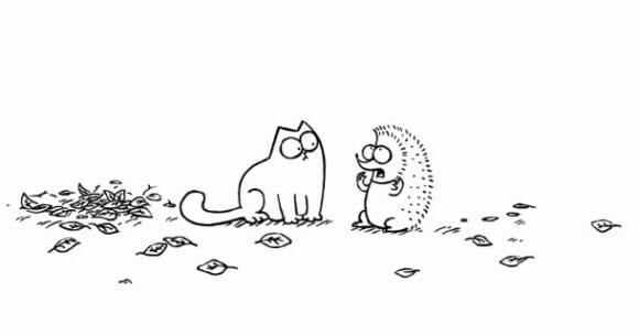 VIDEOFUN - Bate-papo com o Gato Simon.