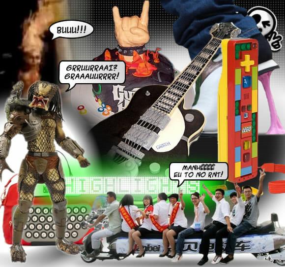 HIGHLIGHTS - Destaques da Semana 42 de 2010.