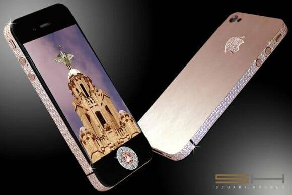 O luxuoso iPhone 4 de 8 milhões de dólares.