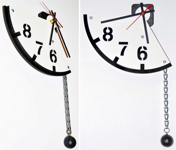 5 To 9 Clock – Um relógio que mostra apenas as horas mais importantes do seu dia.
