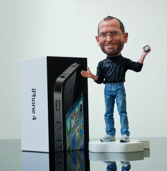 Action Figure do Steve Jobs.