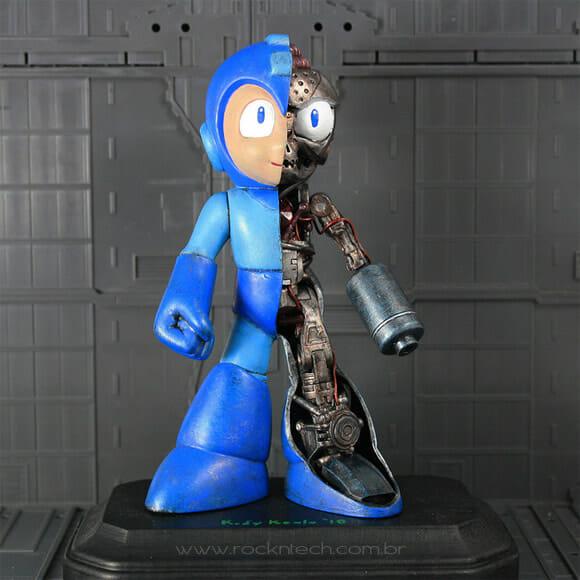 FOTOFUN - Anatomia do Mega Man.