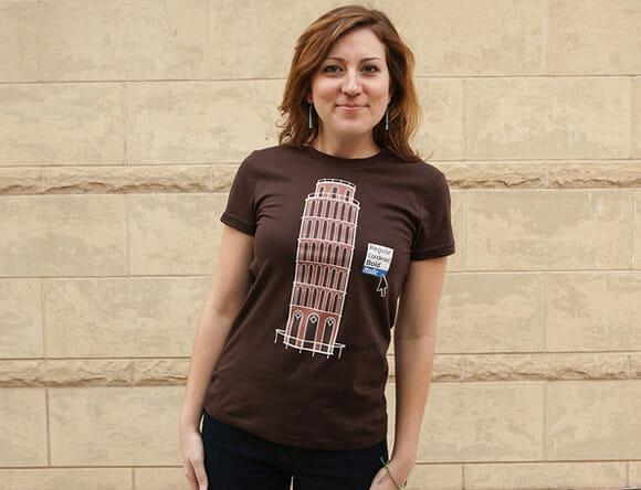 Italyc - Mais uma camiseta geek super criativa.