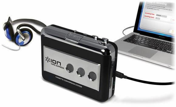 Transforme as músicas de suas fitas cassetes antigas em MP3 com o TapeExpress!