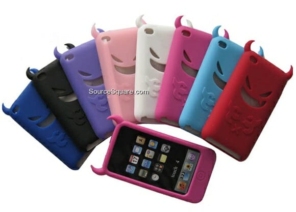 Cases malignas para iPod Touch.