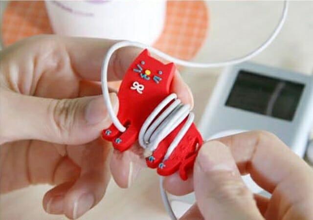 Mantenha os fios dos seus gadgets organizados com simpáticos bichinhos.