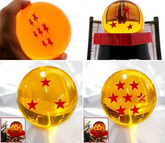 Agora até você pode ter uma Esfera do Dragão de Dragon Ball Z. Kamee Hameeee HAAAAA!!!!