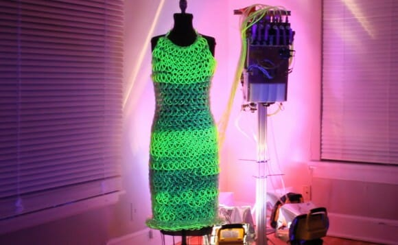 VIDEOFUN - Fluid Dress, o vestido Hi-Tech.