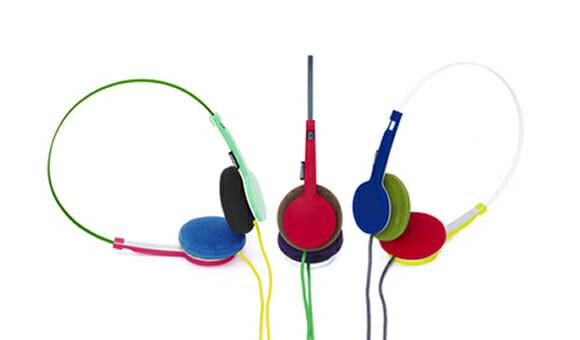 Headphones TANTO da Urbanears & Wired são super coloridos.