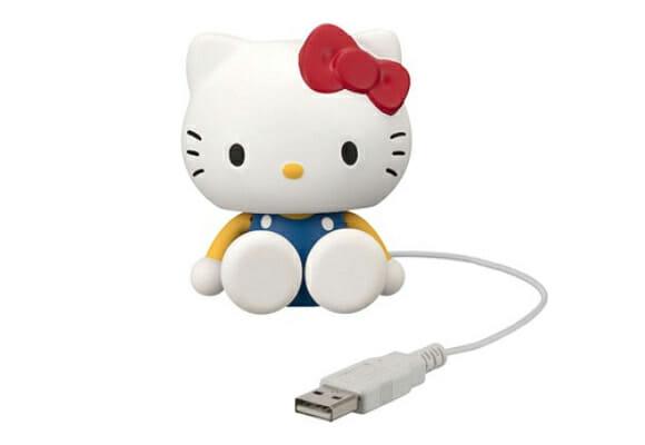 Hello Kitty mini robô USB.