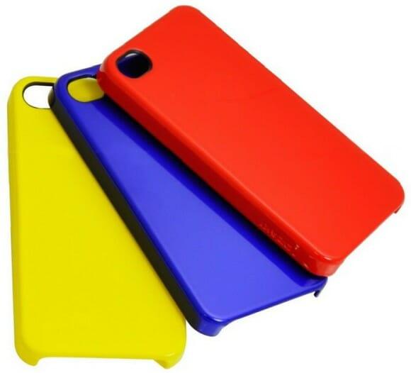 5 cases coloridas para o seu iPhone. Porque ninguém é igual todos os dias.