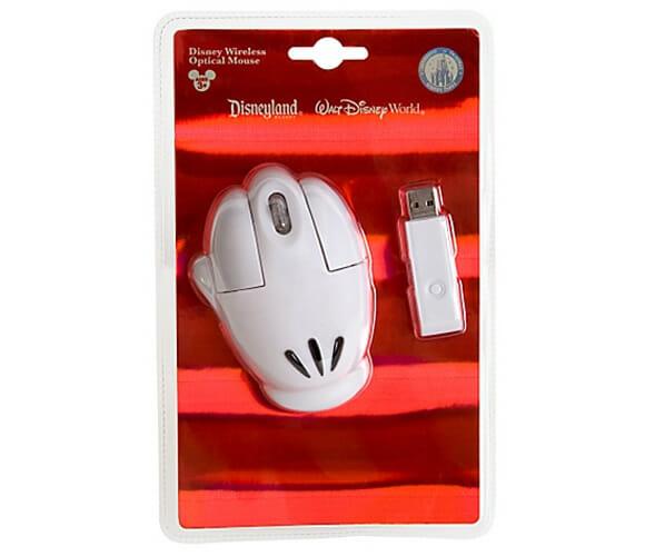 Mouse óptico sem fio para fãs do Mickey Mouse.