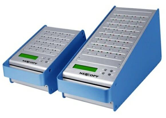 Duplicador USB permite que você crie cópias para até 31 pen drives de uma só vez.