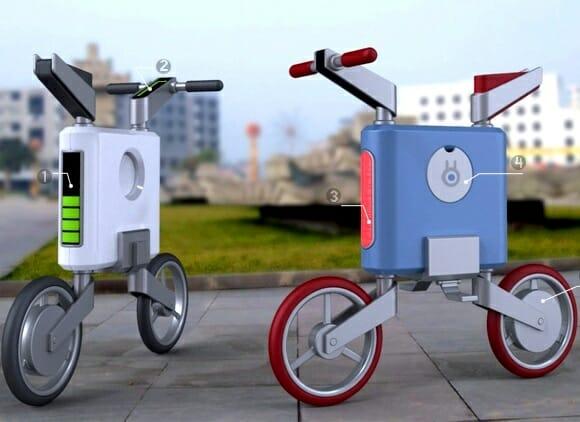 Patrolman – Uma bicicleta com design futurista para driblar os problemas das grandes cidades.