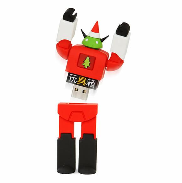 SantaBot – O pen drive Robô Papai Noel.