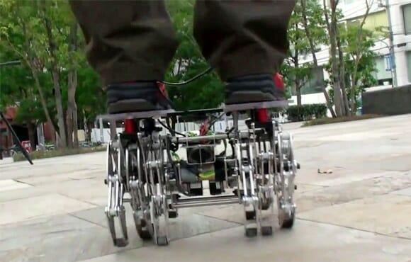 Andador robótico para preguiçosos. (com vídeo)