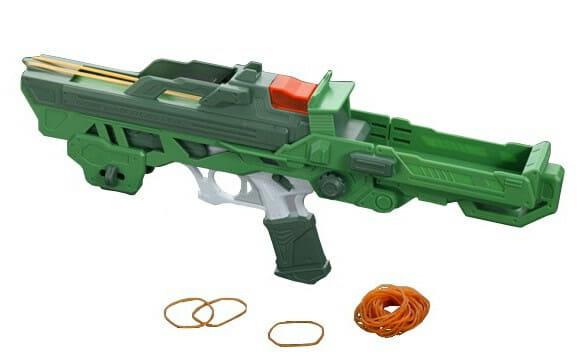 Auto Blaster - A melhor arma para elásticos de escritório de todos os tempos!