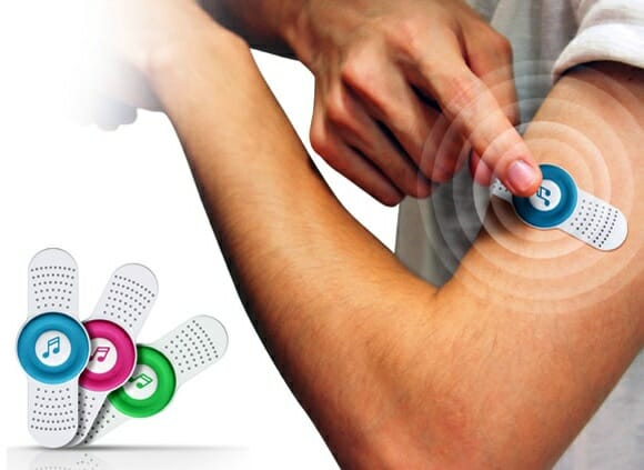 Skinny Player – Um MP3 Player em forma Band Aid.