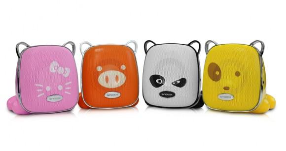 Novos Speakers Pet Baby com função MP3 da Novelview.