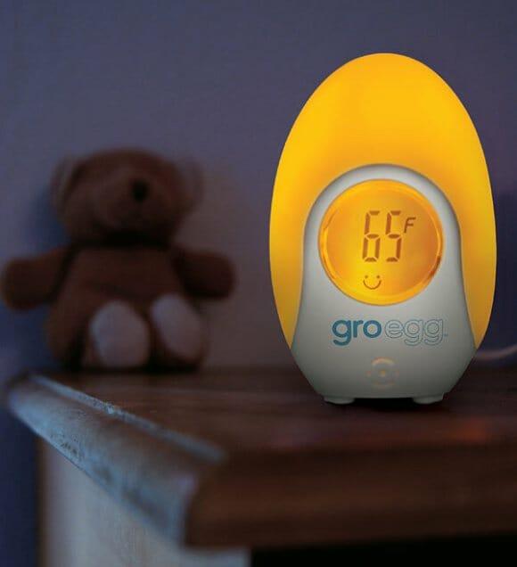 Groegg – Um termômetro que muda de cor de acordo com a temperatura ambiente.