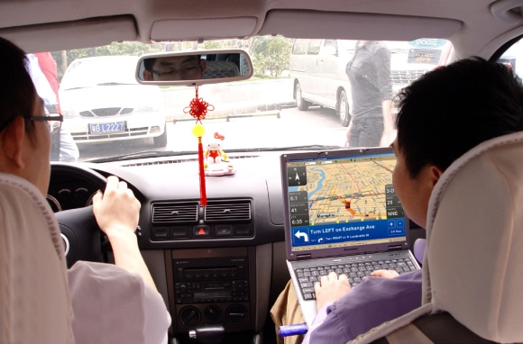USB GPS Receiver transforma seu Laptop em um GPS para os momentos de emergência.