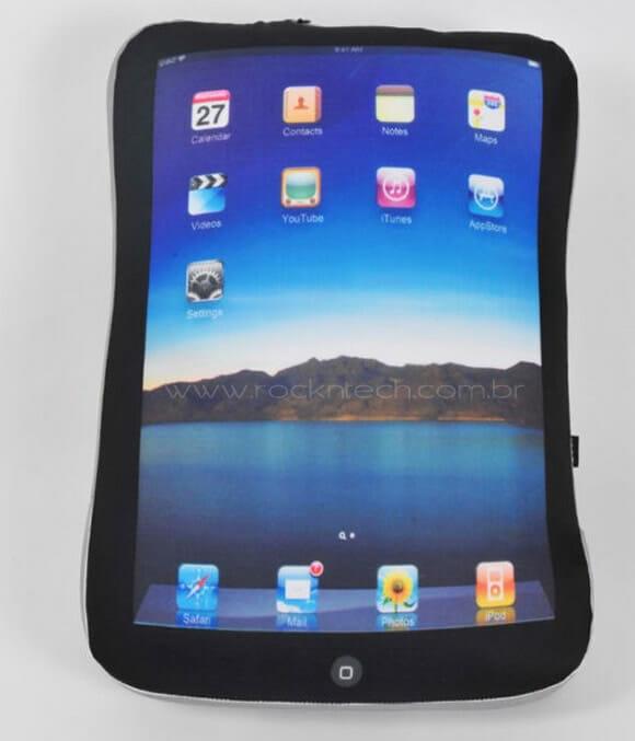 Almofada iPad para applemaníacos.