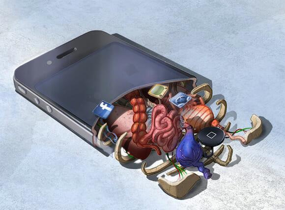 FOTOFUN - A anatomia do iPhone 4.