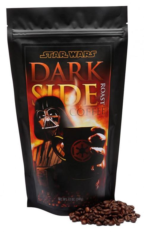 Dark Side Coffee – A bebida perfeita para fãs de Star Wars viciados em cafeína.