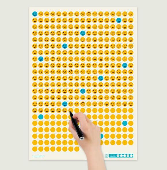 Life Calendar – Um calendário para viciados em emoticons.