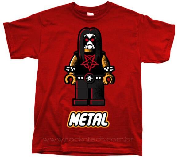 Camiseta Metalego – Para os rockeiros geeks!