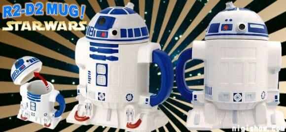 Caneca do R2-D2.