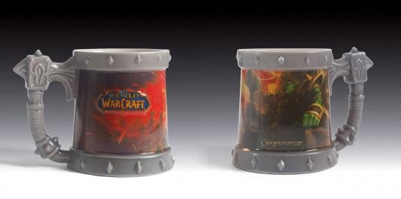 Canecas do game World of Warcraft.