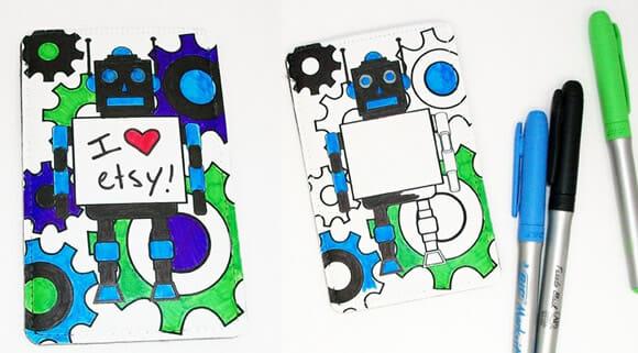 Mr. Roboto Phone Case – Um case divertido para iPhone.