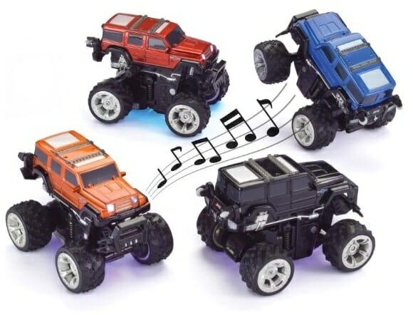 Com vocês os Dancing Cars – Carrinhos de controle remoto que dançam!
