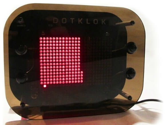 Dotklok - Relógio Digital com animações divertidas. (com vídeo)