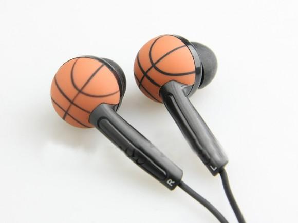 Fone de ouvido Bola de Basquete.