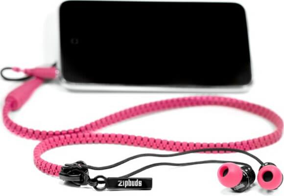 Zipbuds – O fone de ouvido zíper!