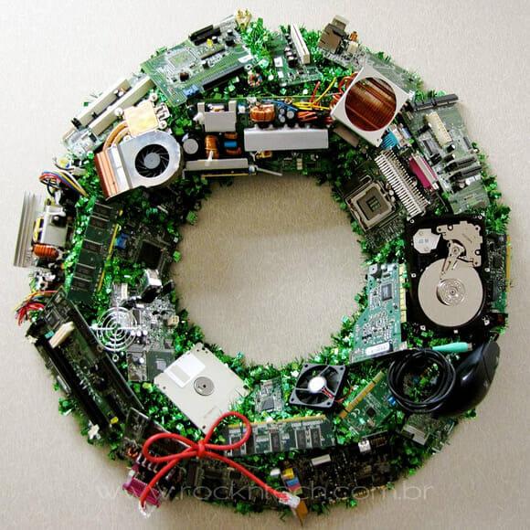 FOTOFUN – Guirlanda de natal geek.