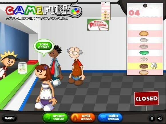 GAMEFUN – Papa's Burgeria
