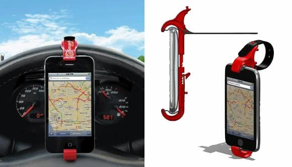 GoSmart Clip – O mais criativo suporte veicular para Smartphones já inventado!