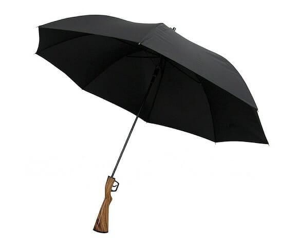 Guarda-chuva espingarda.